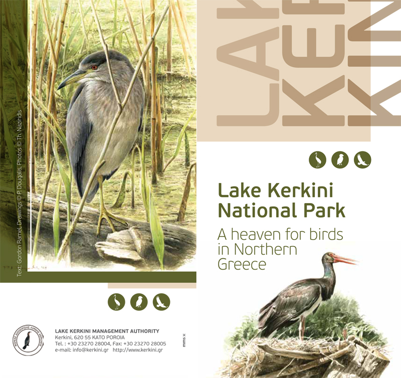 Kerkini Lake  Lake Kerkini National Park Brochure